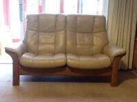 Ekornes Stressless reclining 2 seater settee