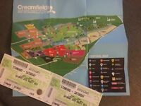 2 x Saturday CreamFields Tickets