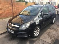 VAUXHALL ZAFIRA 1.6 PETROL MOT 02 /2018 7 SEATERS CAR START AND DRIVE CHEAP ON FUEL AND INSURANCE