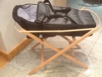 Carrycot and a Moses basket foldable stand-both together for £10