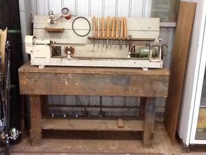 Wood lathe.990mm bed.Tools. Moorook Loxton Waikerie Preview