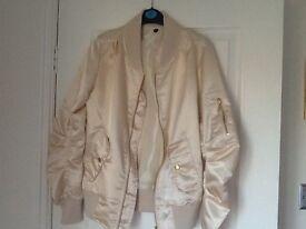 Ladies/ girls light weight bomber jacket size xs