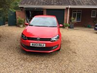 POLO 1.4L, RED, 3 DOOR, EXCELLENT CONDITION, BLUETOOTH SYSTEM