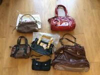 New and used bags, range of designers