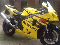 GSXR 600 K4 its lived a life