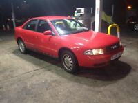 Audi A4 Red 1998 Saloon 1.6 petrol Very clean car inside and out £200 TODAY ONLY