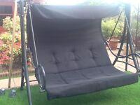 Black garden swing.Very good condition.