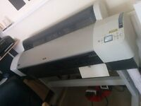 Epson 9800 Large Format Printer Needs Heads