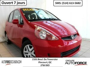 2007 Honda Fit LX AUT AC BAS KM BELLE CONDITION BIEN EQUIPE