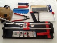 Floor & Wall Tile Cutter + Accessories