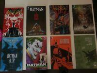Graphic Novels and Comic Books for sale (Batman, Marvel & Walking Dead)
