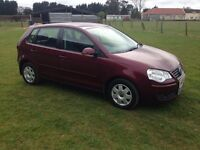 VW POLO 1.4 S 4 DOOR HATCH , FULL SERVICE HISTORY. VERY CLEAN , ALLOYS , A/C