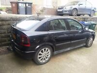 Vauxhall astra 1.7 cdti black 2004 120k just in px to clear £350