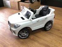 MERCEDES ML KIDS RIDE ON ELECTRIC REMOTE CONTROL CAR AGES 3 TO 5