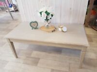 Shabby Chic Coffee Table painted Annie Sloan Country Grey