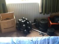 Job lot Dumbbells and weights
