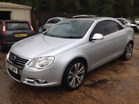 ** NEWTON CARS ** SELLING FOR A FRIEND ** 07 VW EOS 2.0 TDI CONVERTIBLE, FSH, FULL MOT SUPPLIED