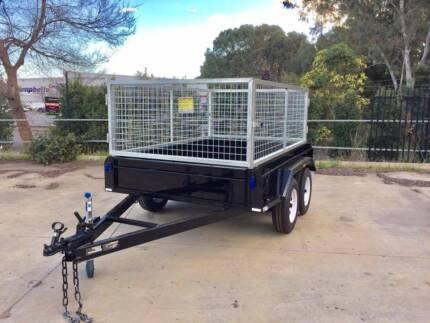 8x5 Tandem Caged Trailer (Australian Made) Morphett Vale Area Preview