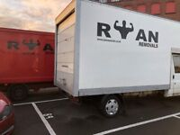 ✅ Ryan Removals Insured Man with Luton Van /2 men/ Box Vans/ Moving home/ House moves/ Man and van