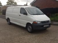 2005 TOYOTA HIACE 300 GS L.W.B, FULL SERVICE HISTORY FROM NEW, 1 OWNER FROM NEW,