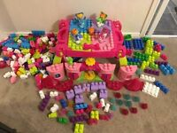 Mega Bloks Fairy Princess sets (huge set with play table)