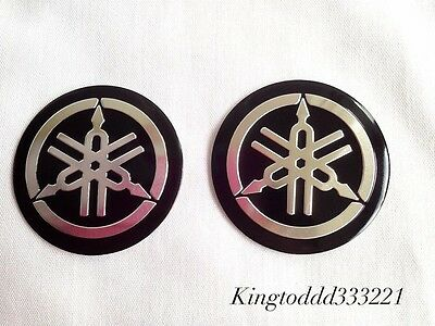 2'' Aluminum Emblem Badge Decals Stickers For Motorcycle Yamaha XV Models for sale  Shipping to South Africa