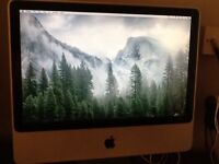 ALUMINIUM 20INCH IMAC DESKTOP,EXCELLENT CONDITION THROUGHOUT,FREE LOCAL DELIVERY