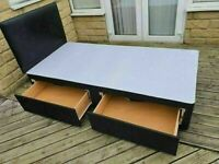 🔵💖🔴BRAND NEW DIVAN🔵💖🔴SINGLE-DOUBLE-SMALL DOUBLE & KING SIZE BED BASE w MATTRESSES