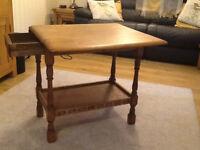 Old Leaf Side Table