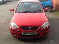 Vauxhall Corsa 1.2 Active only 84000 miles