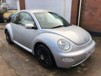 VW Beetle 1.6ltr 2003 model 86k lovely condition inside and out