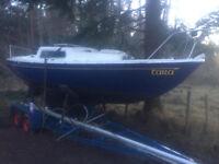 Coribee 21' Boat / sailing yacht