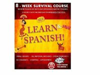 New survival Spanish course starting next month. Small groups