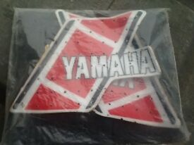 Yamaha yz250 h decals