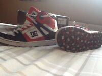 Boys DC trainers junior size 4