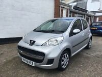 Peugeot 107 urban 2009 5 door 65k brand new mot lovely condition £20 a year tax