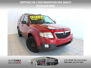 2010 Mazda Tribute GRAND TOURING AUT AC MAGS 6CYL FWD TOUTE EQUI