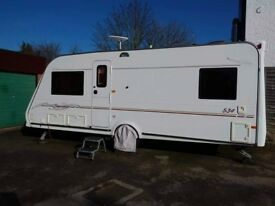 2004 Eldiss Sunseeker 534 Caravan, bassed on the Odyssey model.