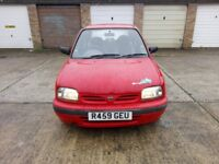 nissan micra 1.0 with mot and free insurance until 31.07.2018