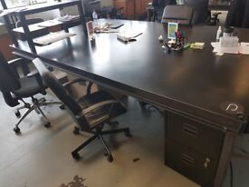 2x XXL Handmade Steel Desks - £500 FOR BOTH