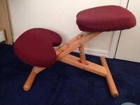 Ergonomic chair - kneeling chair