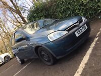 Vauxhall Corsa 1l Ideal runabout or first car.