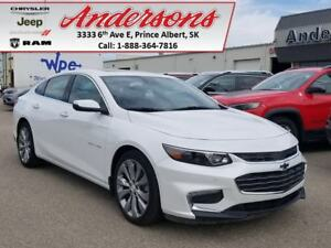 2017 Chevrolet Malibu Premier *Loaded/Low KM*