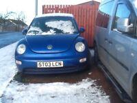 Spares repairs Volkswagen Beetle 2003