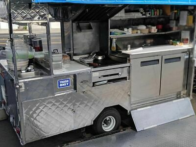 Ready To Operate Licensed And Permitted Food Vending Cart Mobile Food Unit For