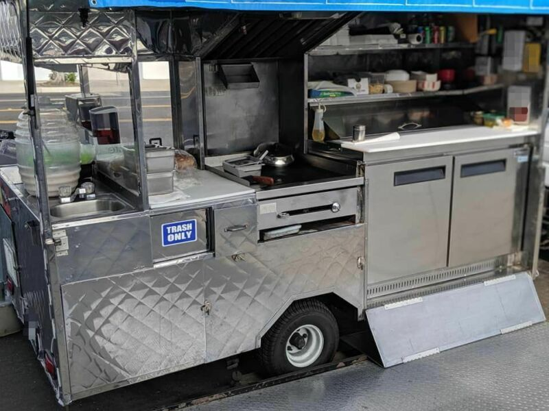 Ready to Operate Licensed and Permitted Food Vending Cart / Mobile Food Unit for