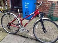 Bike lady's tourismo 20six £50