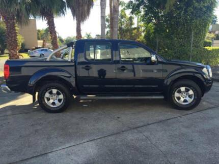 2007 Nissan Navara STX 4x4 Ute!! 135ks Underwood Logan Area Preview