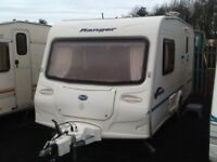 2004 Bailey ranger 460/2 berth end changing room with fitted mover