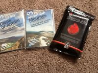 Maps. Never used as news. Glens of antrim and mournes mountains also survival bag